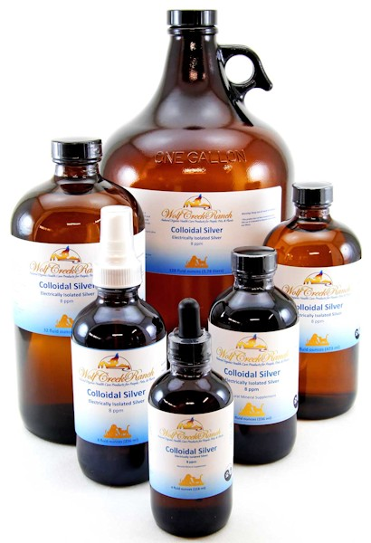 Colloidal Silver aka Electrically Isolated Silver is an extremely effective natural antibiotic that kills viruses, bacteria, fungus, and single celled organisms such as protozoan.